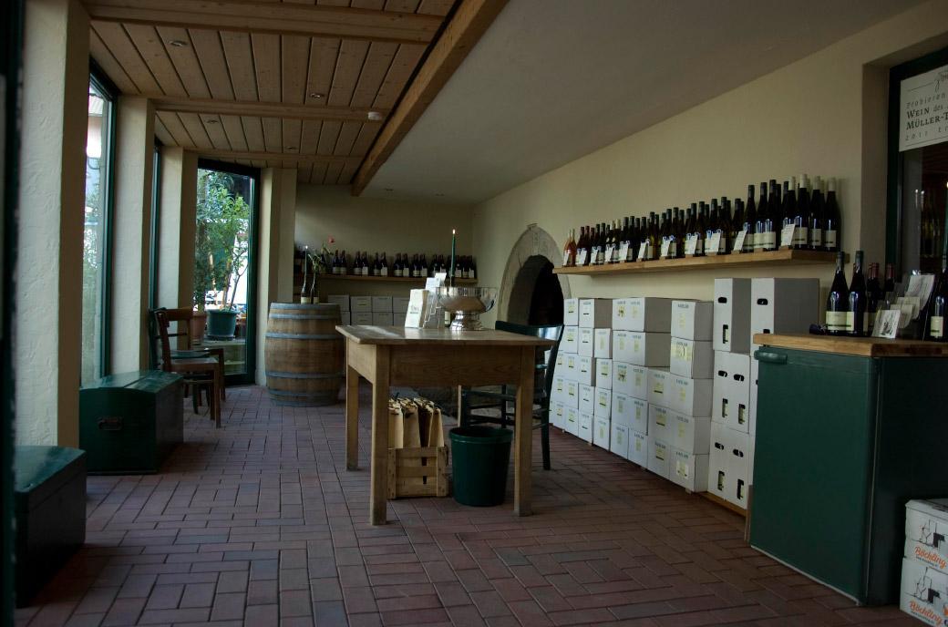 Weingut Zorn Weinverkaufsraum
